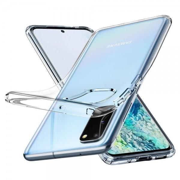 Чехол-капсула для Galaxy S20 - Spigen - SGP - Liquid Crystal