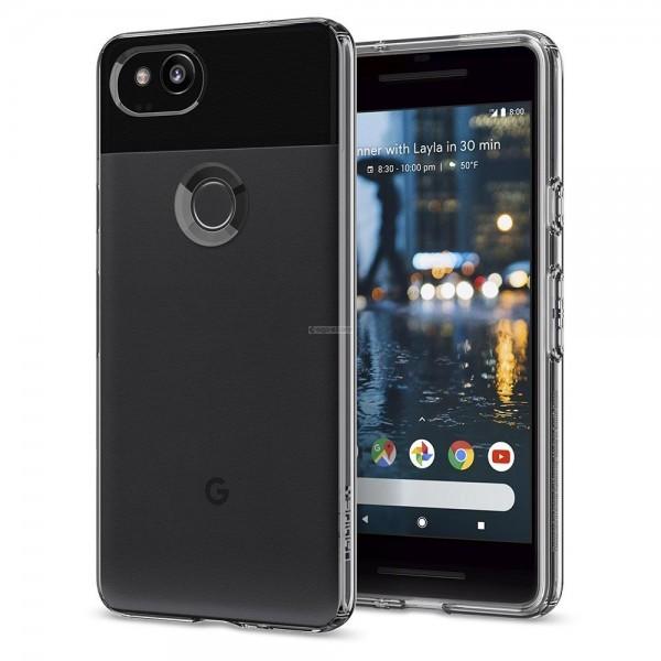 Чехол-капсула для Google Pixel 2 - Spigen - SGP - Liquid Crystal