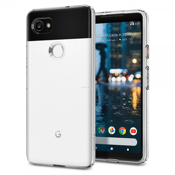 Чехол-капсула для Google Pixel 2 XL - Spigen - SGP - Liquid Crystal