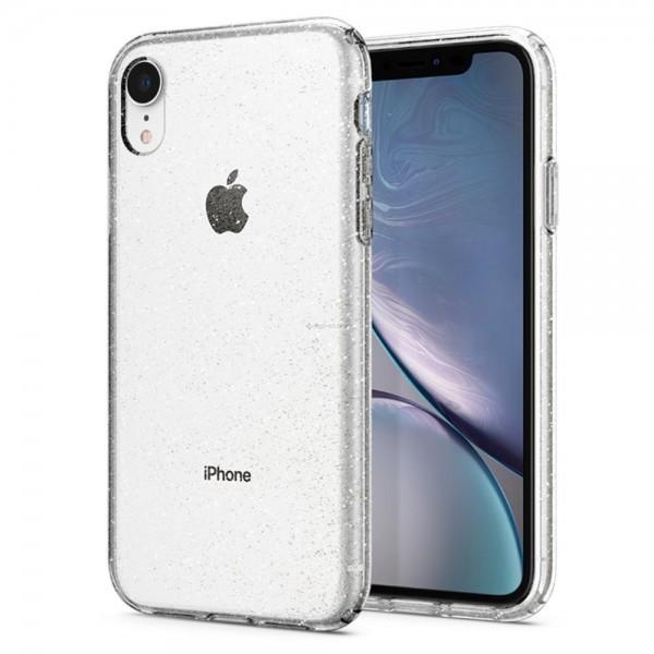 Чехол-капсула для iPhone XR - Spigen - SGP - Liquid Crystal Glitter