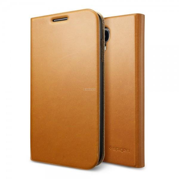 Чехол-книжка для Galaxy S4 - Spigen - SGP - Slim Wallet S
