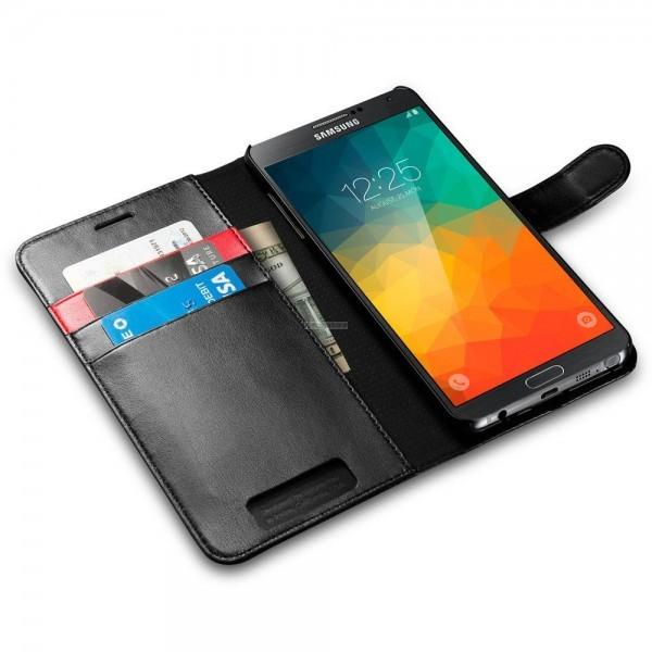 Чехол-книжка для Galaxy Note 5 - Spigen - SGP - Wallet S