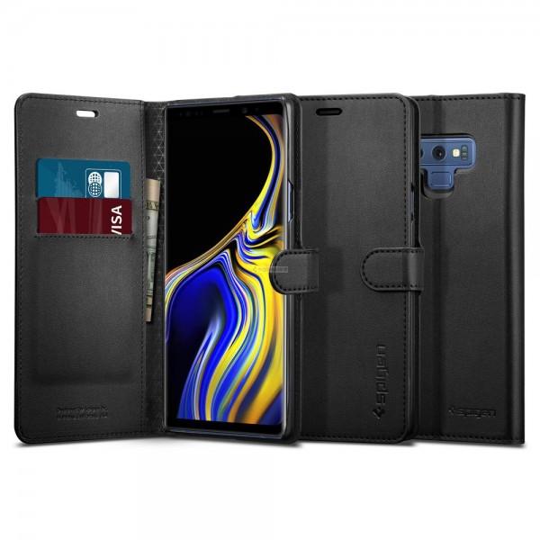 Чехол-книжка для Galaxy Note 9 - Spigen - SGP - Wallet S