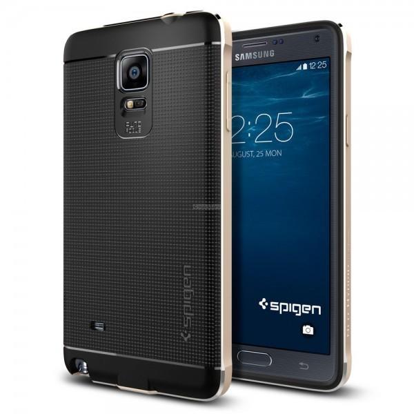 Премиум чехол для Galaxy Note 4 - Spigen - SGP - Neo Hybrid Metal