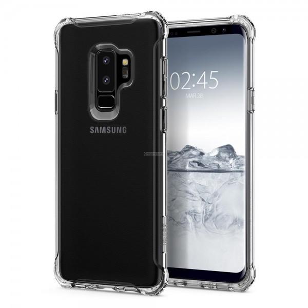 Прочный чехол для Galaxy S9 Plus - Spigen - SGP - Rugged Crystal