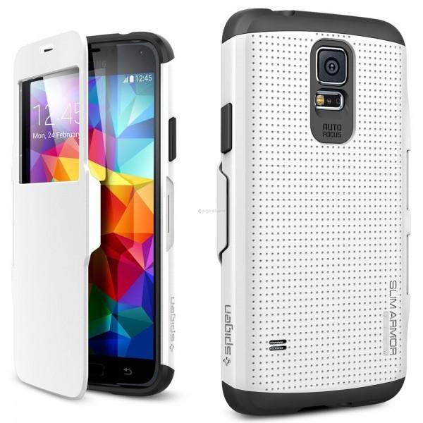 Защитный чехол для Galaxy S5 - Spigen - SGP - Slim Armor View