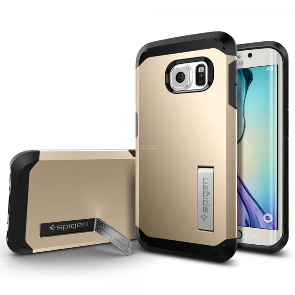 Защитный чехол для Galaxy S6 Edge - Spigen - SGP - Tough Armor