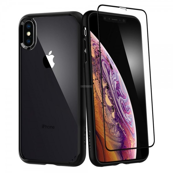 Защитный чехол для iPhone XS Max - Spigen - SGP - Ultra Hybrid 360