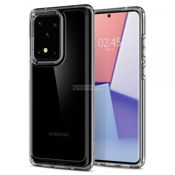 Чехол для Galaxy S20 Ultra - Spigen - SGP - Crystal Hybrid