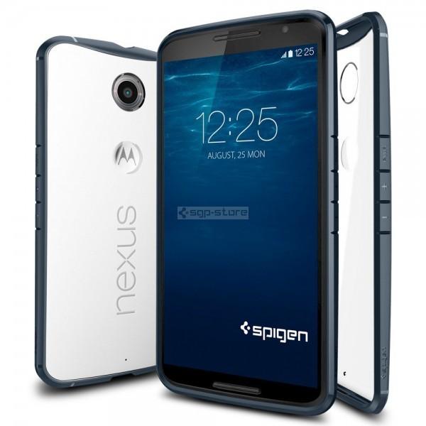 Чехол-гибрид для Nexus 6 - Spigen - SGP - Ultra Hybrid