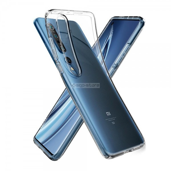 Чехол-капсула для Xiaomi Mi 10 - Spigen - SGP - Liquid Crystal