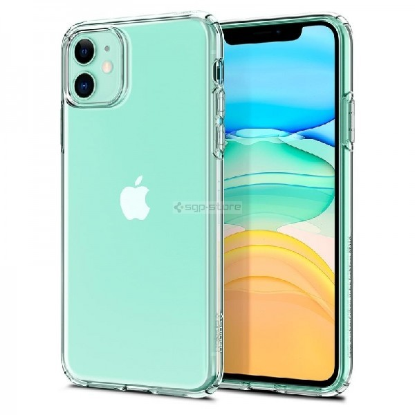 Чехол-капсула для iPhone 11 - Spigen - SGP - Liquid Crystal