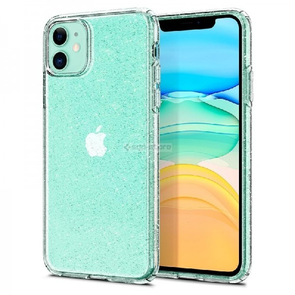 Чехол-капсула для iPhone 11 - Spigen - SGP - Liquid Crystal Glitter