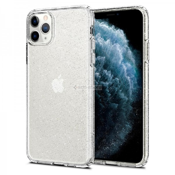 Чехол-капсула для iPhone 11 Pro Max - Spigen - SGP - Liquid Crystal Glitter