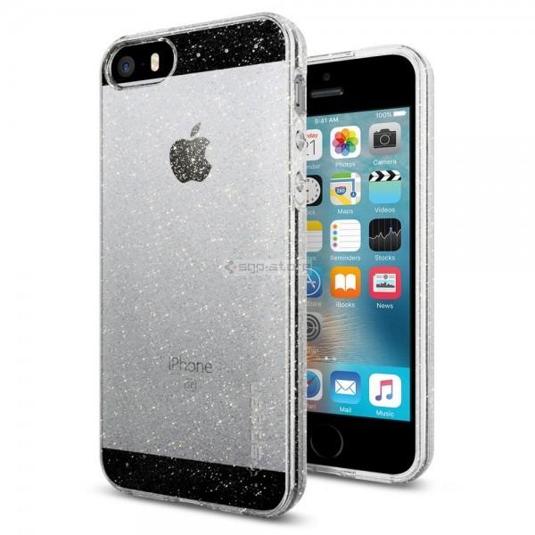 Чехол-капсула для iPhone SE / 5s / 5 - Spigen - SGP - Liquid Air Glitter