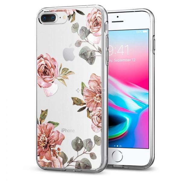 Чехол-капсула для iPhone 8 Plus / 7 Plus - Spigen - SGP - Liquid Crystal Aquarelle