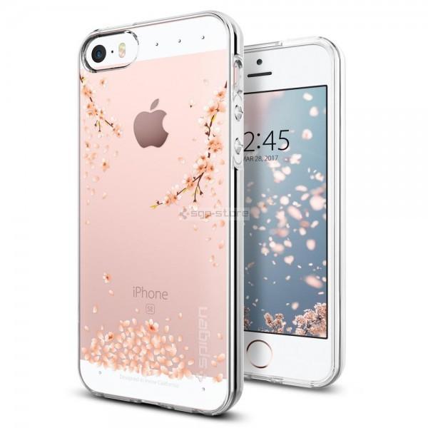 Чехол-капсула для iPhone SE / 5s / 5 - Spigen - SGP - Liquid Crystal Blossom