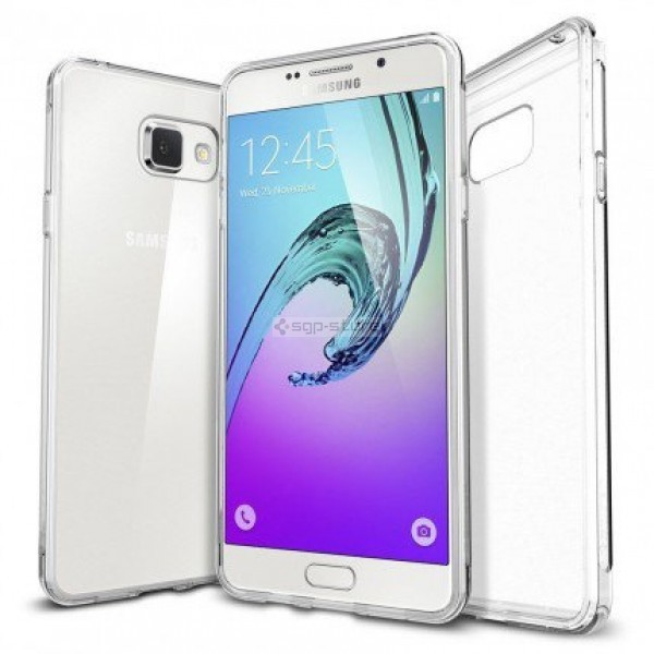 Чехол-капсула для Galaxy A7 (2016) - Spigen - SGP - Liquid Crystal