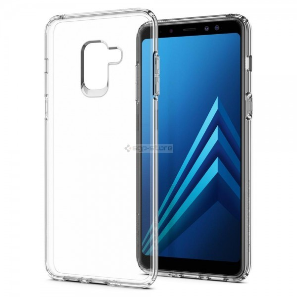 Чехол-капсула для Galaxy A8 (2018) - Spigen - SGP - Liquid Crystal