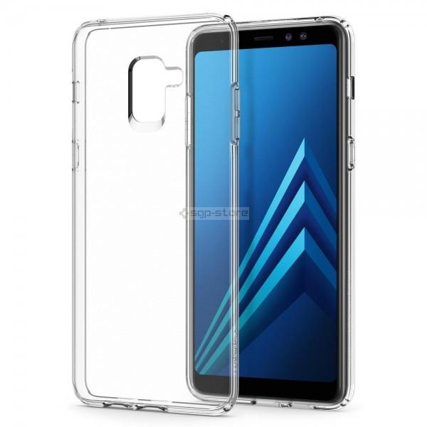Чехол-капсула для Galaxy A8 Plus (2018) - Spigen - SGP - Liquid Crystal