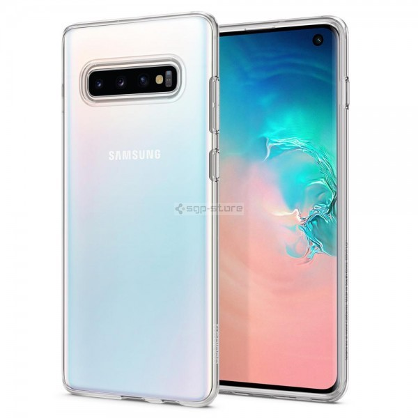 Чехол-капсула для Galaxy S10 - Spigen - SGP - Liquid Crystal