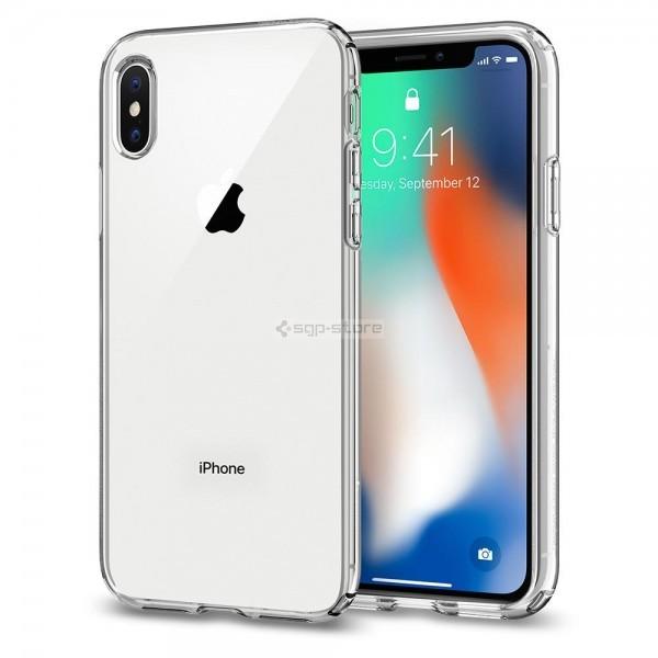 Чехол-капсула для iPhone XS / X - Spigen - SGP - Liquid Crystal