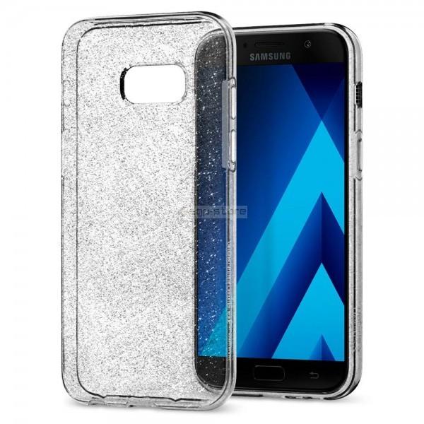 Чехол-капсула для Galaxy A3 (2017) - Spigen - SGP - Liquid Crystal Glitter
