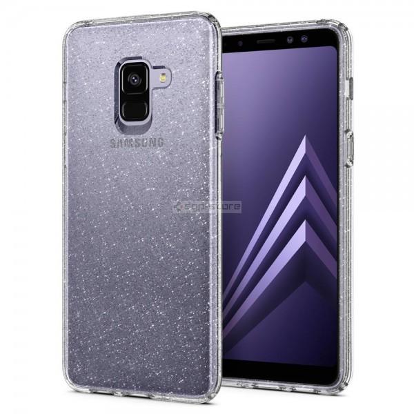 Чехол-капсула для Galaxy A8 (2018) - Spigen - SGP - Liquid Crystal Glitter