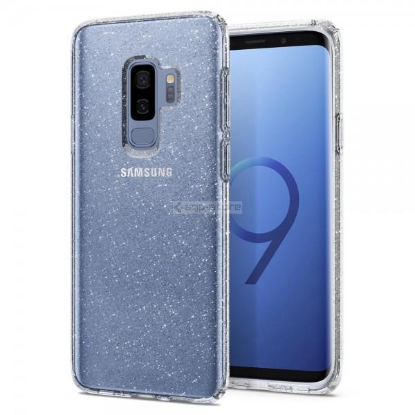 Чехол-капсула для Galaxy S9 Plus - Spigen - SGP - Liquid Crystal Glitter