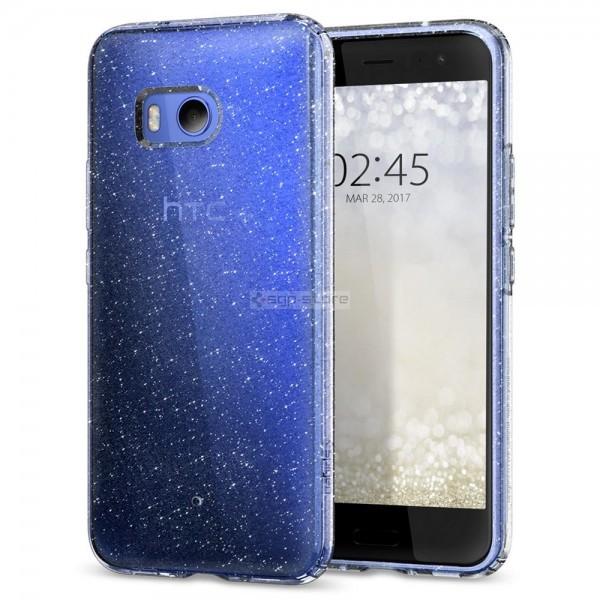 Чехол-капсула для HTC U 11 - Spigen - SGP - Liquid Crystal Glitter