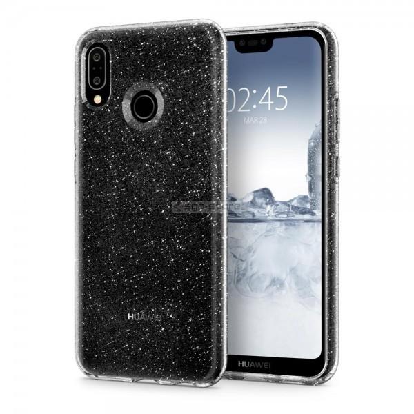 Чехол-капсула для Huawei P20 Lite / Nova 3e - Spigen - SGP - Liquid Crystal Glitter