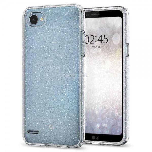 Чехол-капсула для LG Q6 - Spigen - SGP - Liquid Crystal Glitter