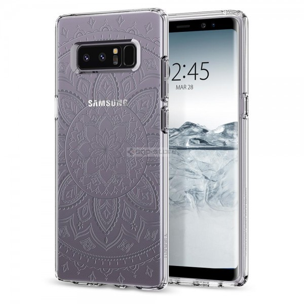 Чехол-капсула для Galaxy Note 8 - Spigen - SGP - Liquid Crystal Shine