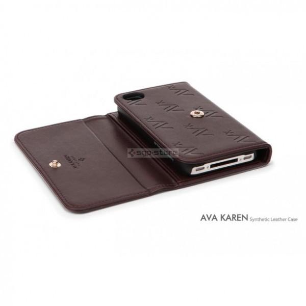 Чехол-бумажник для iPhone 4s / 4 - Spigen - SGP - Ava Karen