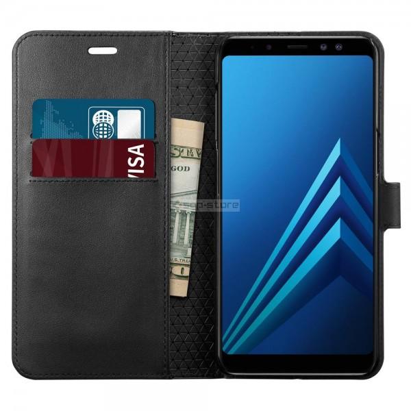 Чехол-книжка для Galaxy A8 (2018) - Spigen - SGP - Wallet S