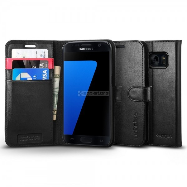 Чехол-книжка для Galaxy S7 - Spigen - SGP - Wallet S