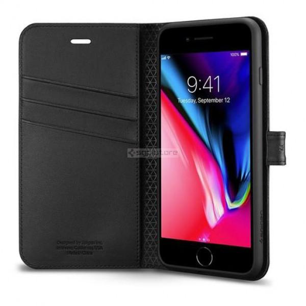 Чехол-книжка для iPhone 8 Plus / 7 Plus - Spigen - SGP - Wallet S