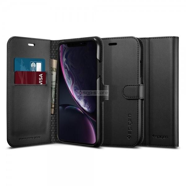 Чехол-книжка для iPhone XR - Spigen - SGP - Wallet S