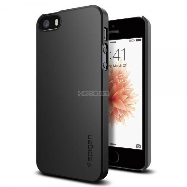 Чехол-накладка для iPhone SE / 5s / 5 - Spigen - SGP - Thin Fit