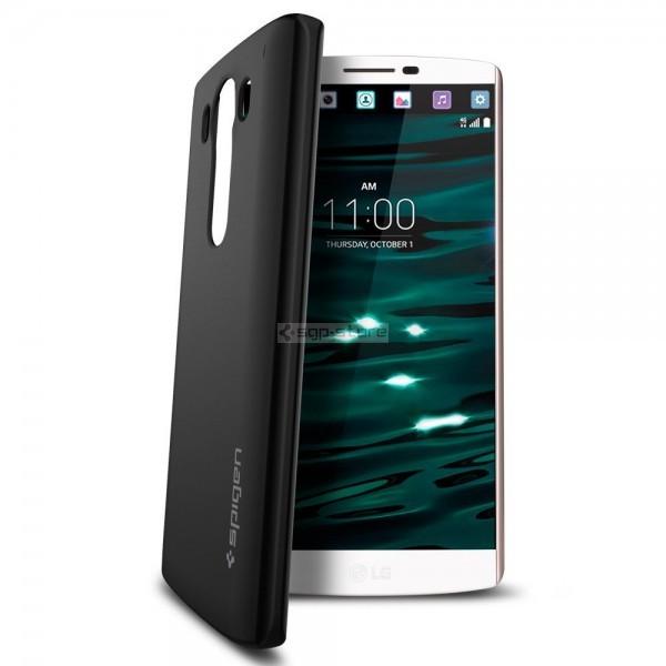 Чехол-накладка для LG V10 - Spigen - SGP - Thin Fit
