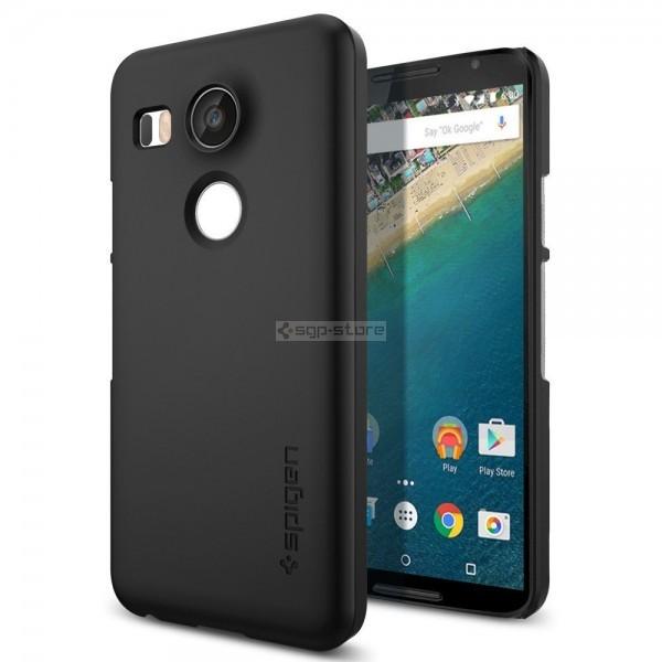 Чехол-накладка для Nexus 5X - Spigen - SGP - Thin Fit