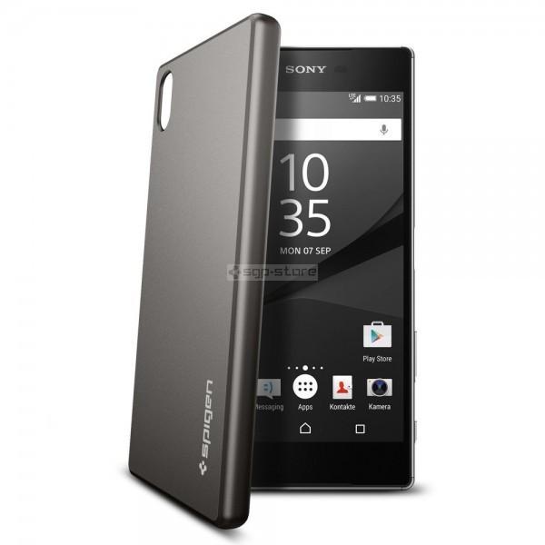 Чехол-накладка для Sony Xperia Z5 - Spigen - SGP - Thin Fit