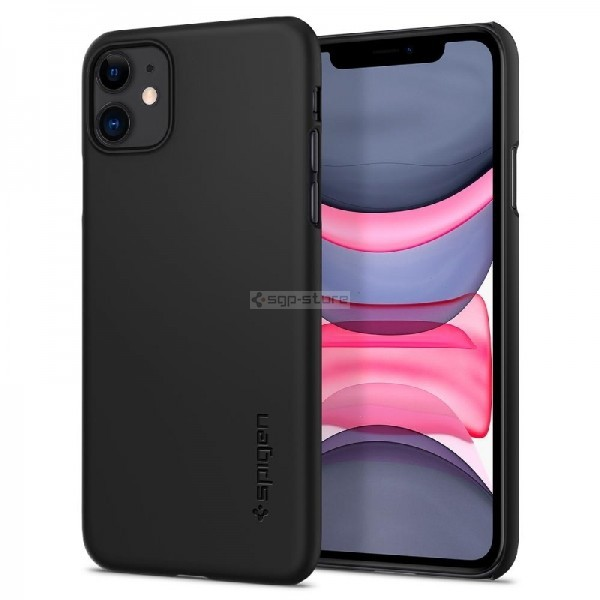 Чехол-накладка для iPhone 11 - Spigen - SGP - Thin Fit