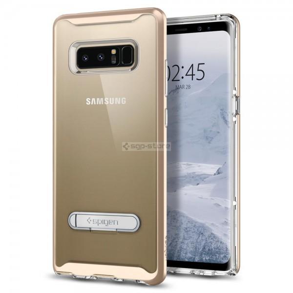 Чехол с подставкой для Galaxy Note 8 - Spigen - SGP - Crystal Hybrid
