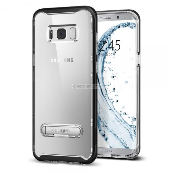 Чехол с подставкой для Galaxy S8 Plus - Spigen - SGP - Crystal Hybrid