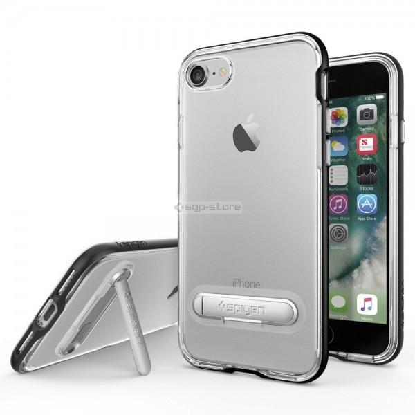 Чехол с подставкой для iPhone SE (2020) / 8 / 7 - Spigen - SGP - Crystal Hybrid