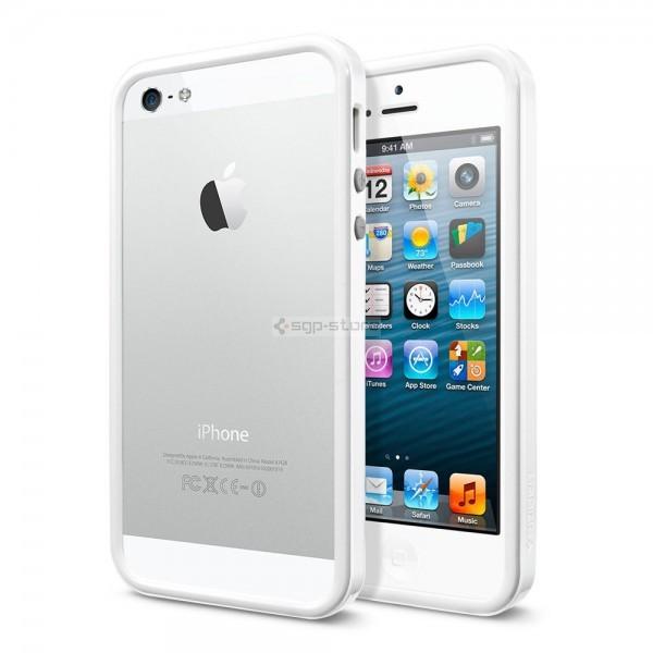 Бампер для iPhone SE / 5s / 5 - Spigen - SGP - Neo Hybrid EX Slim Snow