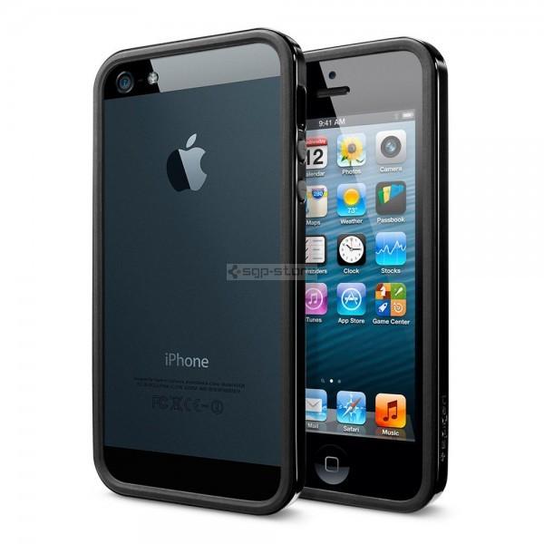 Бампер для iPhone SE / 5s / 5 - Spigen - SGP - Neo Hybrid EX Slim Vivid