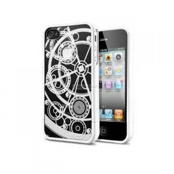 Чехол для iPhone 4s / 4 - Spigen - SGP - Linear Clockwork