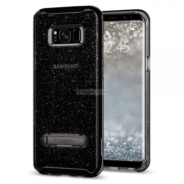 Чехол для Galaxy S8 Plus - Spigen - SGP - Crystal Hybrid Glitter